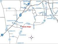 Sandy Ridge Map