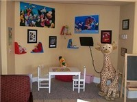 Childs play area in clubhouse