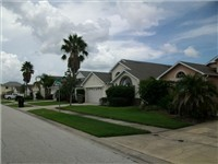 Lovely homes line the streets of Eagle Pointe.
