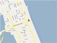 Map of A1A  Daytona Beach