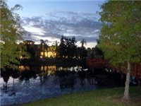 The beautiful Terra Verde Resort is built around a 3 acre stocked fishing lake. Our private lake has an abundance of wildlife in and around it that includes turtles, cranes and ducks to name a few. Th
