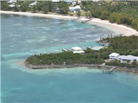 Aerial shot of Coco Rock