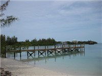 Public dock on Coco Bay