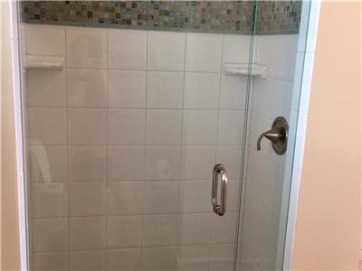 Upstairs shower