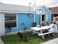 "Mrs Emily's  Blue ""B"" Bar  - Restaurant in Abaco"