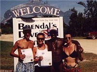 Brendal,Mary & newly certified divers