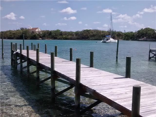 Dock at Island Gambol