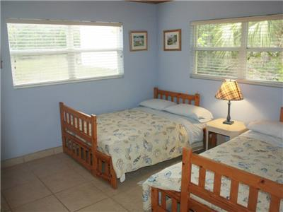 guest room with 2 full beds