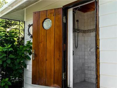 indoor/outdoor shower for Master Bedroom