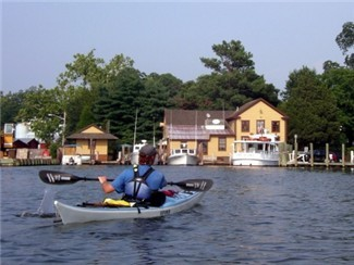 Paddle your way through the shallow, brilliant waters of Onancock Creek and the Eastern Shore Wildlife Refuge with SouthEast Expedition Kayaking.