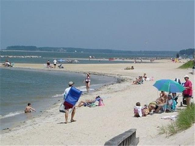 Beach At Cape Charles