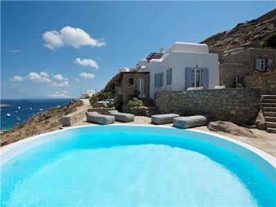 Mykonos- Gv - Villa Anemone with pool and 3 bedrooms