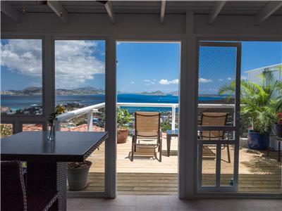 Perfect water view from your Honeymoon Suite