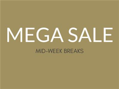 Mega Sale Mid-Week Breaks