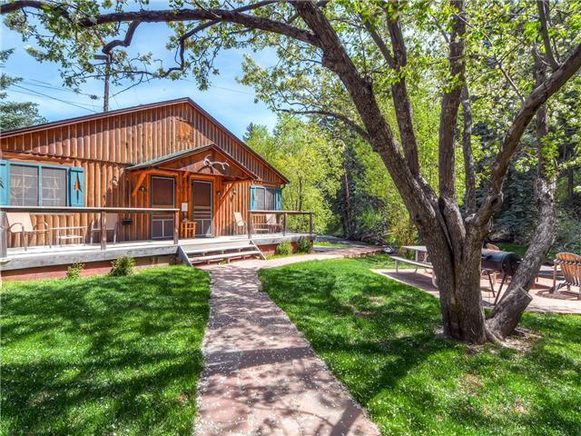 Etonnant Colorado Bear Creek Cabin 8