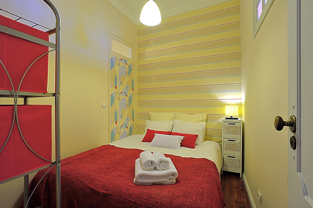 Bedroom 2 (prepared with double bed)