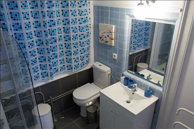 Bathroom 1 (bathtub with shower)
