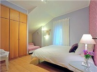 Room 2 prepared with double bed