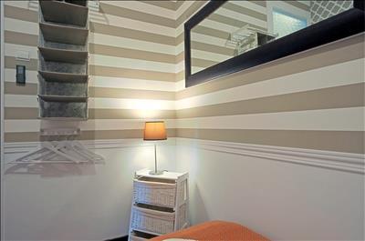 detail of second bedroom