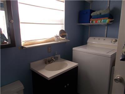 Washer/Dryer in downstairs bath