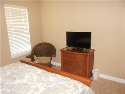 TV in Second Bedroom