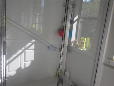 Upstairs walk in shower