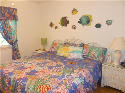 Guest Bedroom with King Size Bed