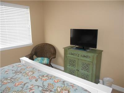 TV in first guest room