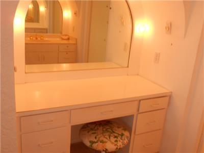 Vanity in Master bathroom