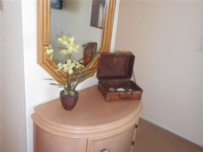 Dresser in master bedroom