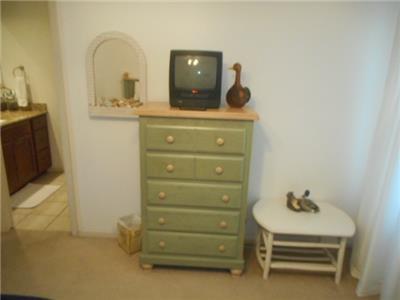 TV in 1st guest bedroom