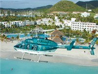 Helicopter Tours Antigua - Tourist Attraction in Jolly Harbour