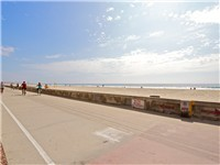 Beach - only a three minute walk away