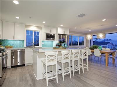 3rd level - Kitchen with finest appliances