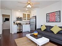 1 BR - Living area offers sleeping sofa