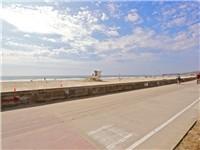 Beach- just steps away