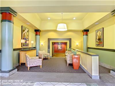 Our building's Second Avenue lobby.