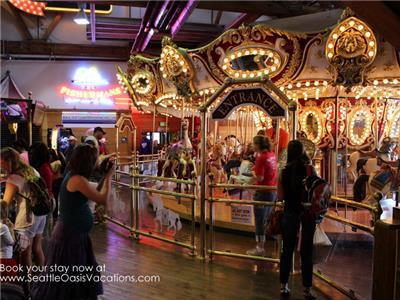 The Carosel @ Minners Landing next to Ferris Wheel