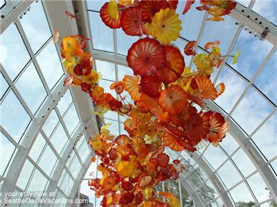 Chihuly, Orange and Red Glass, Atrium