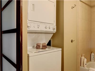 Laundry available in the vacation home