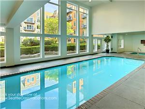 Pool & Hot Tub on Third Floor