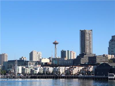 Seattle's Iconic Space Needle from Argosy Cruise