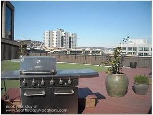2 Gas grills are available.