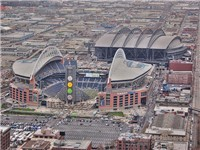 Safeco and Qwest Field - Sports Center in Seattle