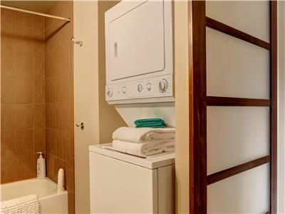 Laundry available in the condo.