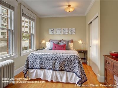 Second bedroom overlooks Blanchard Street.