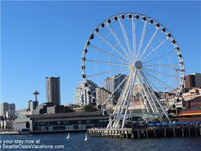 Great Wheel, City, Space Needle
