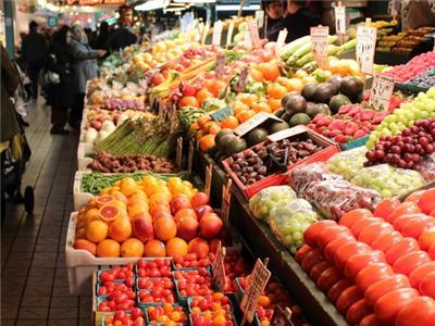 Pike Place Market, Produce, Fruit, Color