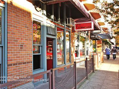 Belltown Pizza and other eateries in building