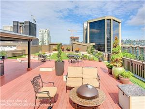 Roof top deck is 3000 square feet